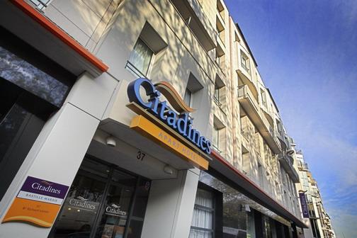 【4名1室】 マレ地区のアパートメントホテルで暮らすパリ 7日間 ◆ 大韓航空指定 羽田・成田発選択可能!