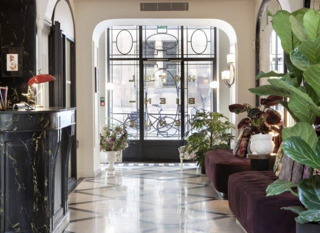 【ホテル・ビアンヴニュ指定】 2017年7月オープン! モダンでお洒落な3つ星ホテル パリ6日間 ◆ 人気のエミレーツ航空指定!